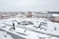 Автофлешмоб на площади Ленина в честь Дня памяти жертв ДТП, Фото: 1