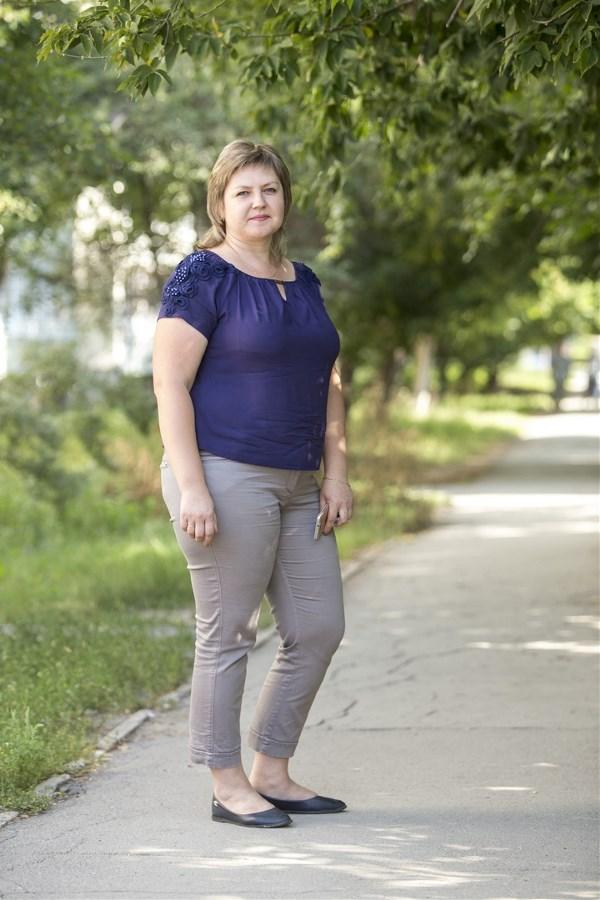 Юлия Емельянова, 36 лет. Рост 170 см, вес 95 кг.