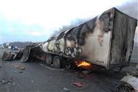 Причиной массового ДТП под Тулой стал дым с горящих полей, Фото: 2