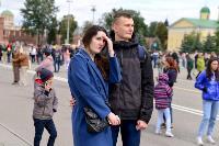 Толпа туляков взяла в кольцо прилетевшего на вертолете Леонида Якубовича, чтобы получить мороженное, Фото: 78
