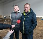 Строительство «Ледовой арены» в парке 250-летию ТОЗ. 28.03.2015, Фото: 7