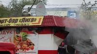 В Ясногорске сгорел продуктовый магазин. 16 мая 2015, Фото: 7