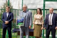 Открытие нового футбольного поля, Фото: 21