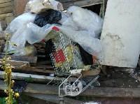 В Туле со двора «Плюшкиной» вывезли несколько грузовиков мусора, Фото: 6