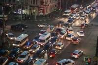 Транспортный коллапс в центре Тулы, Фото: 24
