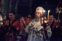 Пасхальная служба в Успенском кафедральном соборе. 11.04.2015, Фото: 25