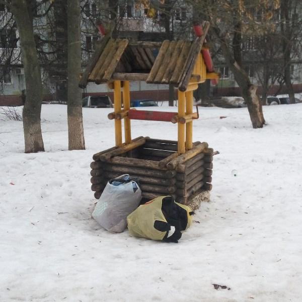 Вся Тула в одном кадре: развалины, мусор, какашки...