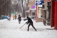 Последствия снежного циклона в Туле, Фото: 39
