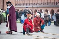 Средневековые маневры в Тульском кремле. 24 октября 2015, Фото: 94