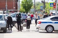 Полицейский рейд в тульских маршрутках: на пассажиров без масок составляют протоколы, Фото: 25