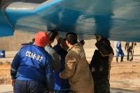 Установка копии Ла-5ФН на несущую опору мемориала «Защитникам неба Отечества» , Фото: 11