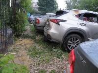 Утром 27 мая в Заречье вспыхнули три иномарки, Фото: 3
