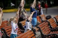 Фитнес-зарядка в парке, Фото: 31