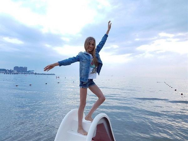 Июльский вечер на Чёрном море.