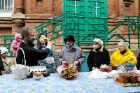 Туляки освящают пасхи и куличи, Фото: 30