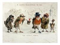Старинные рождественские открытки, Фото: 37