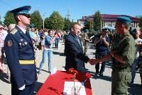 Командиру 106-й гвардейской воздушно-десантной дивизии вручено Георгиевское знамя, Фото: 16