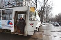 ДТП с участием двух трамваев. , Фото: 12