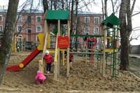 В Тульской области продолжают устанавливать детские площадки, Фото: 2
