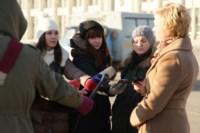 Установка ёлки на площади Ленина. 21 ноября 2014 года, Фото: 9