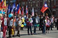 Тульская Федерация профсоюзов провела митинг и первомайское шествие. 1.05.2014, Фото: 13