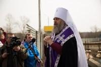 Митрополит Алексий освятил колокола храма в поселке Рождественский, Фото: 9
