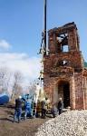 Храм в селе Ефремовского района обрел купол и крест, Фото: 20