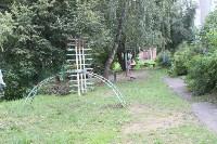 «Экопатруль» благоустроил в Киреевске двор, Фото: 11