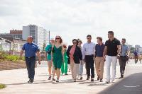 Тулу посетила советник председателя партии «Новые люди» Сардана Авксентьева, Фото: 20