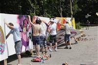 Молодые туляки попытали свои силы на конкурсе граффити, Фото: 13