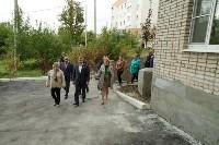 Алексей Дюмин посетил дом в Ясногорске, восстановленный после взрыва, Фото: 26
