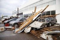 В Туле сорвало крышу делового центра, Фото: 12
