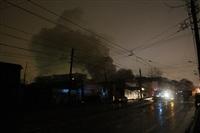 На ул. Оборонной в Туле сгорел магазин., Фото: 25