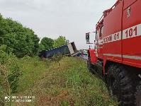 В Тульской области в ДТП с двумя грузовиками погиб водитель, Фото: 1