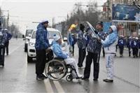Эстафета паралимпийского огня в Туле, Фото: 23
