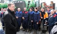 Алексей Дюмин обсудил с тульскими сельхозпроизводителями развитие молочного животноводства, Фото: 9