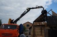 В Плеханово начали сносить дома в цыганском таборе, Фото: 43