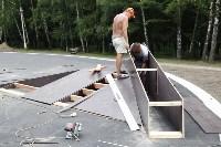 Строительство скейтпарка в Центральном парке., Фото: 11