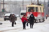 Последствия снежного циклона в Туле, Фото: 25