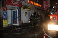 На ул. Оборонной в Туле сгорел магазин., Фото: 8