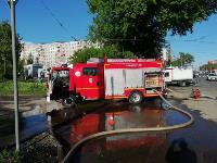 Пожар на ул. М. Горького в Туле, Фото: 3