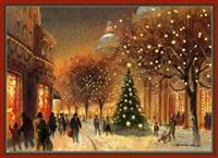 Старинные рождественские открытки, Фото: 39