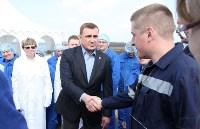 Алексей Дюмин ответил на вопросы сотрудников ООО «Воловский бройлер», Фото: 9
