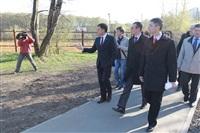 Визит губернатора в Центральный парк, Фото: 8