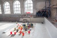 Андрианов инспектирует работы в бассейне на Гоголевской. 5.09.2015, Фото: 8