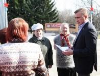 Учащиеся Волхонщинской средней школы показали Алексею Дюмину школьный музей боевой славы, Фото: 15