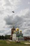 Установка шпиля на колокольню Тульского кремля, Фото: 40
