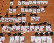 Губернатор Владимир Груздев вручил ключи от квартир новоселам в Узловском районе, Фото: 1