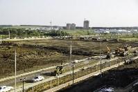 Осмотр стоящегося суворовского училища. 22 августа, Фото: 16