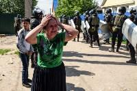 Плеханово, итоги дня: В таборе принудительно снесли первые 10 домов, Фото: 17